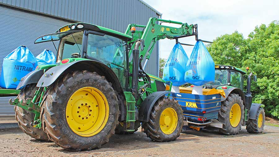Will Morgans 6210R and H380 loader