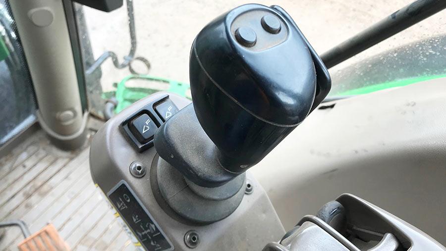 loader joystick