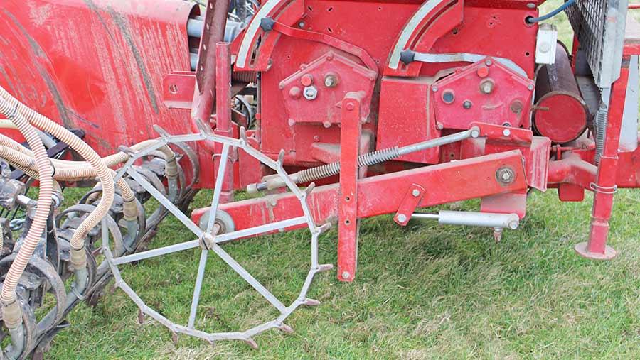 Metering wheel