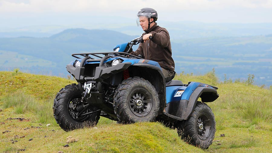 Video Yamaha Kodiak Special Edition 450 On Test Farmers Weekly