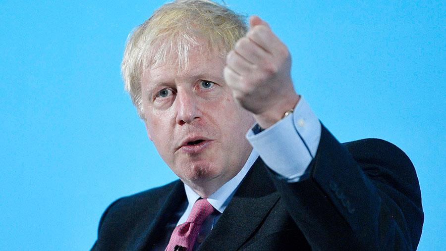 Boris Johnson © Neil Hall/EPA-EFE/Shutterstock