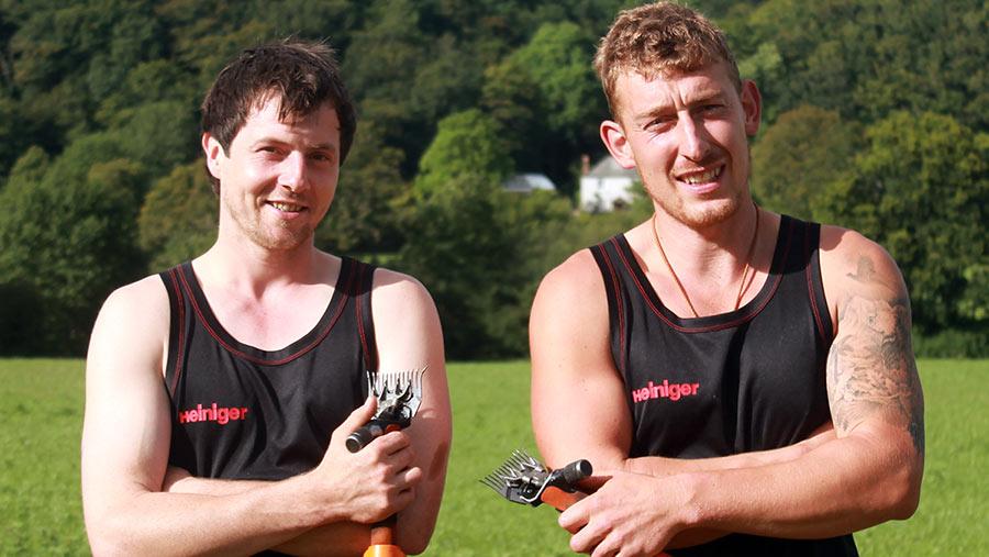 Martin Howlett (left) and Jonny Roberts