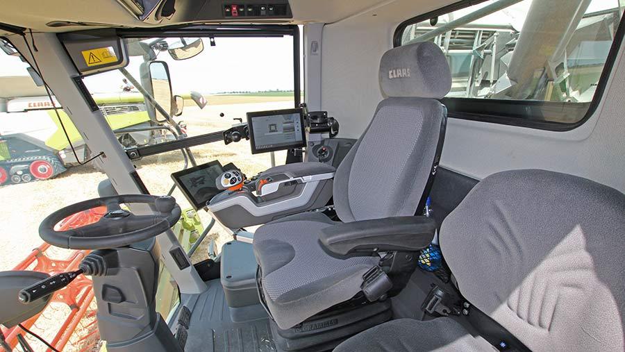 Claas Lexion cab