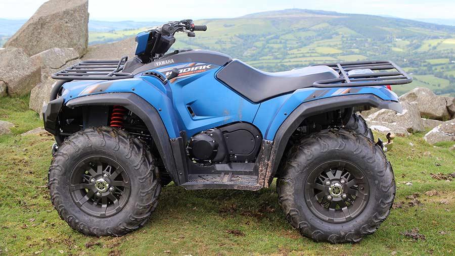Yamaha Kodiak special edition 450