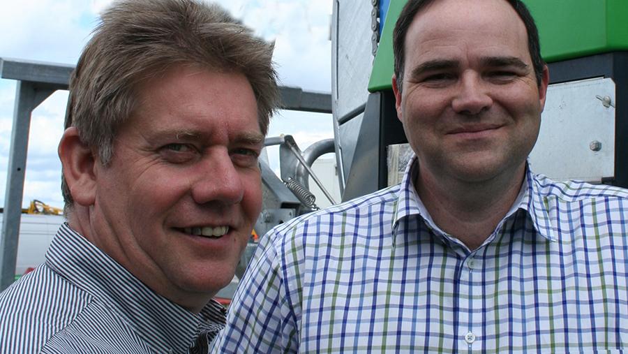Rob Jackson and Adrian Tindall