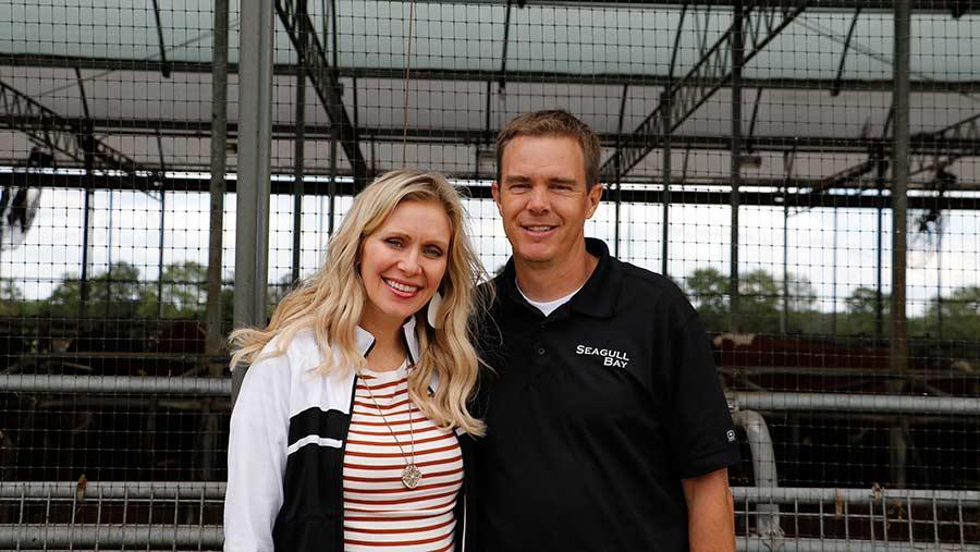 Idaho farmer Ben Andersen and his wife Robbie