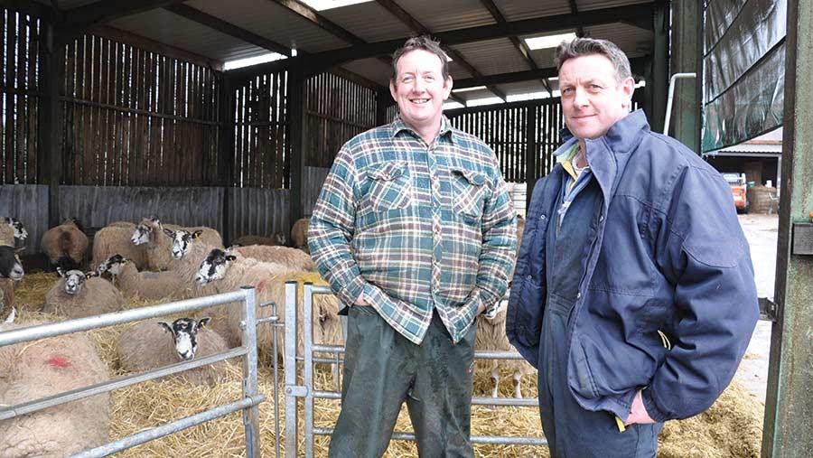 Alan (left) and Richard Fairbairn