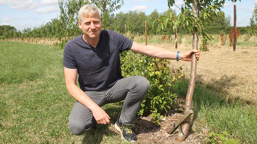 Ben Raskin, Soil Association's head of horticulture