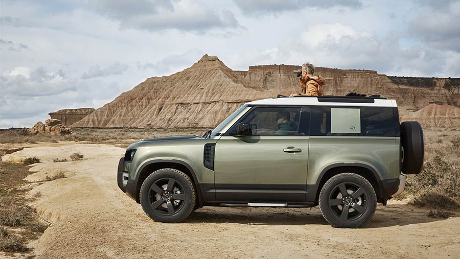 New Land Rover Defender © Land Rover