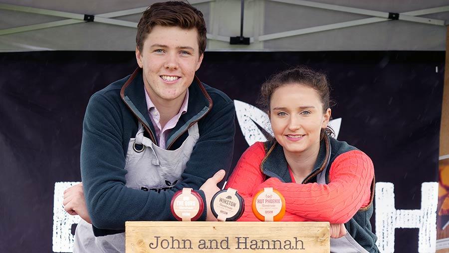 John Davies and Hannah Kinston