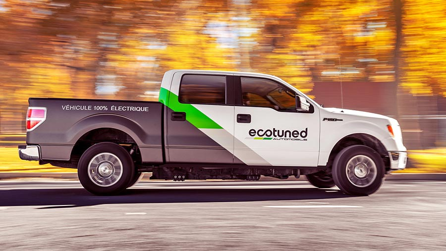 Ecotuned Ford F-150 pickup