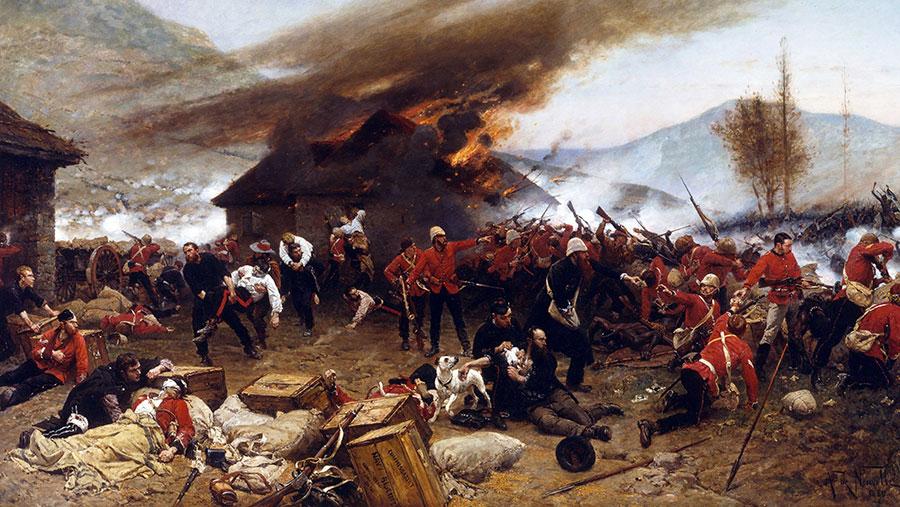 The Battle of Rorke's Drift © Universal History Archive/UIG/Shutterstock