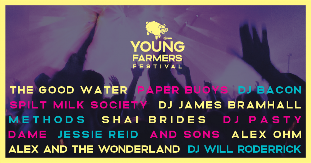 Young Farmers Festival 2020 line up summary