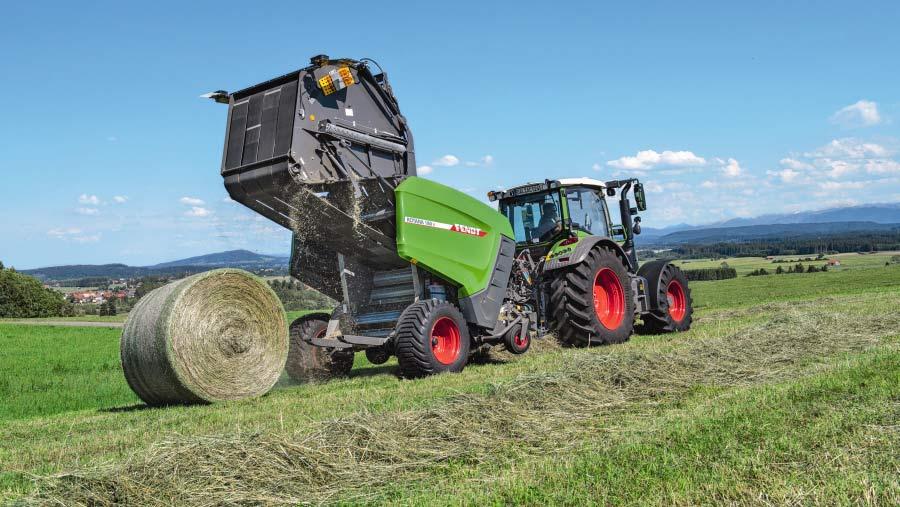 Fendt Rotana 180 V in crop