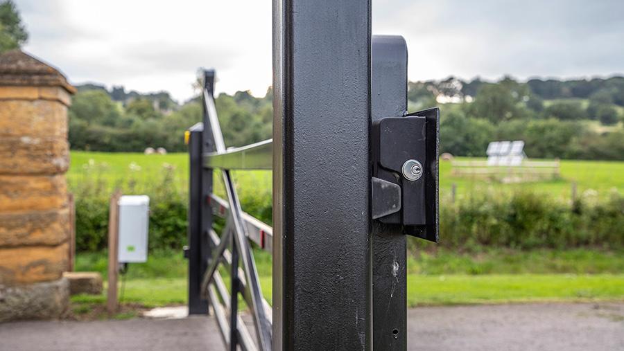 Goliath farm gate lock