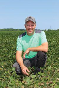 Jeff Barlow in field