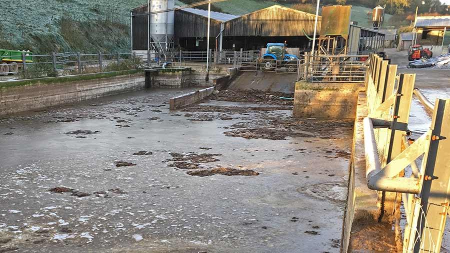 Gatcombe Farm slurry pit
