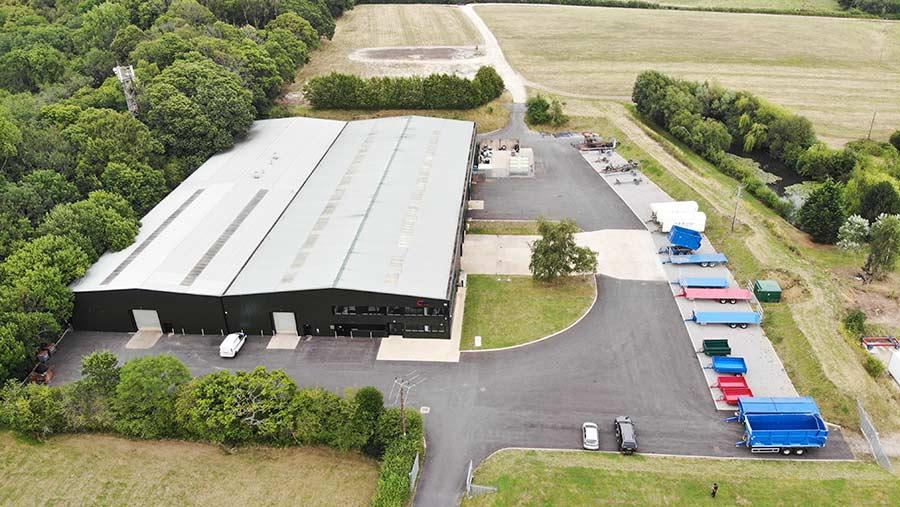 Warwick Trailers warehouse