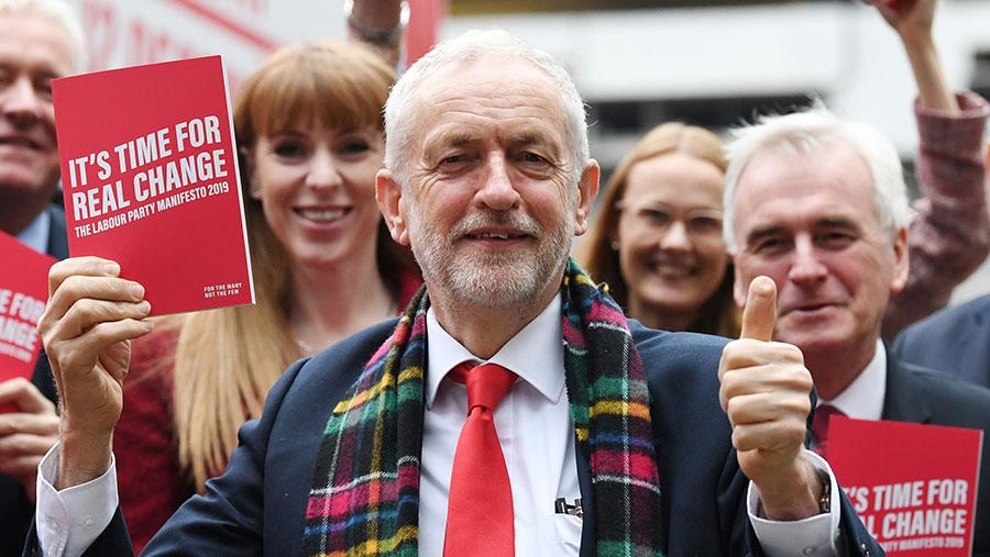 Labour leader Jeremy Corbyn © James Veysey/Shutterstock