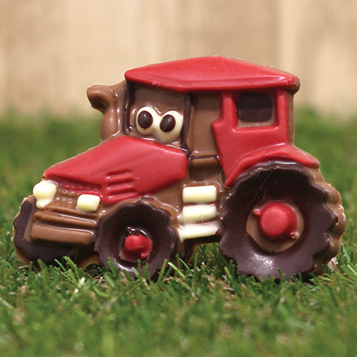 Friars chocolate tractor