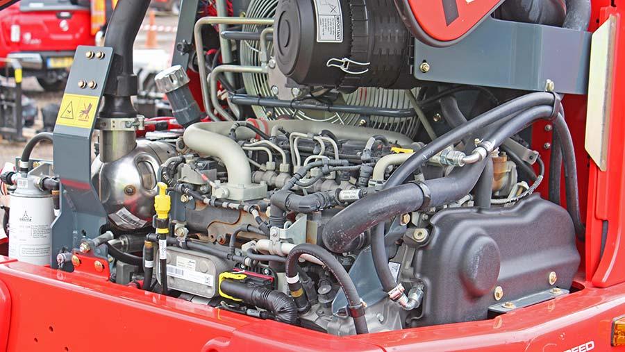 MLA-T-516 engine