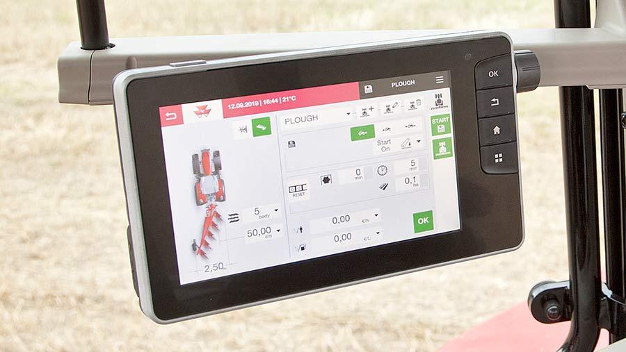 Massey Ferguson 7718 touchscreen