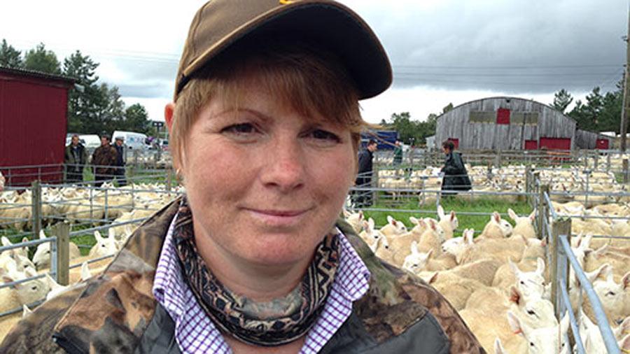 Sutherland hill farmer Joyce Campbell