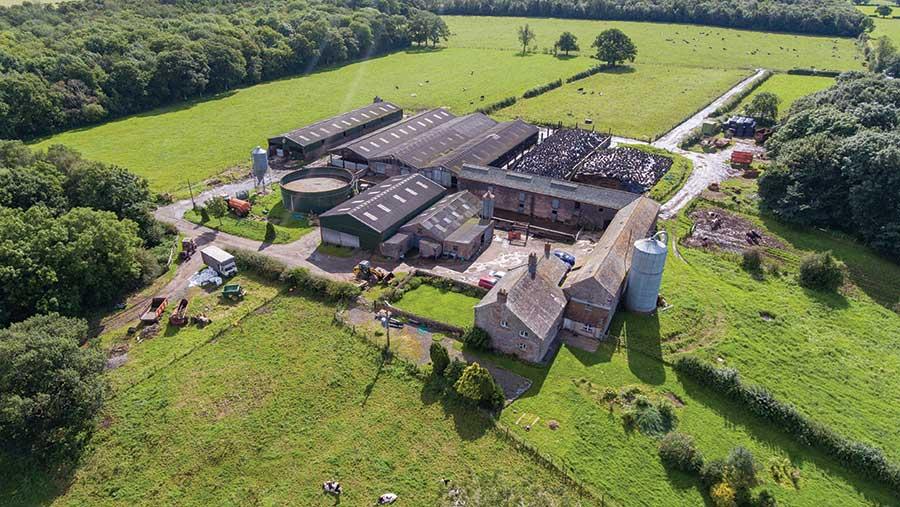 Middlesceugh Hall Farm © Edwin-Thompson