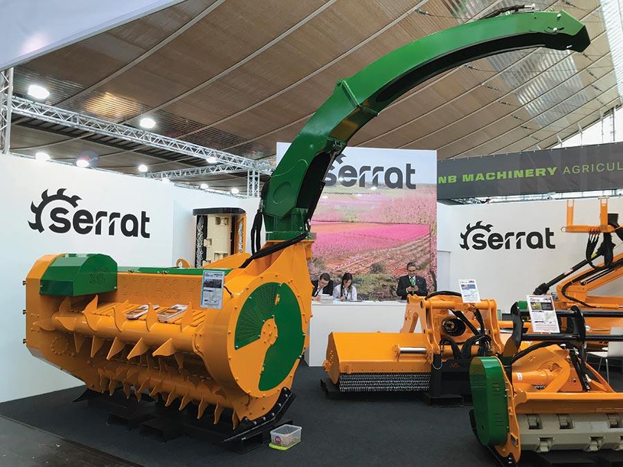 Serrat biomass recovery mulcher