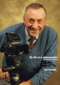 Ted Everett on his book cover