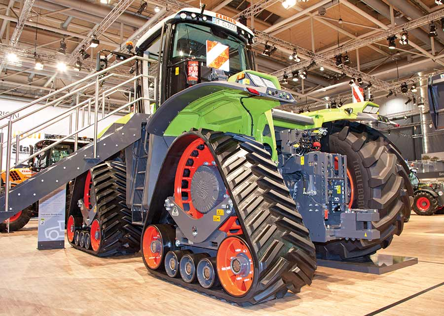 Claas 5000 Xerion