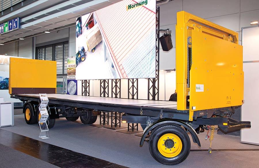 Hornung ratchet trailer