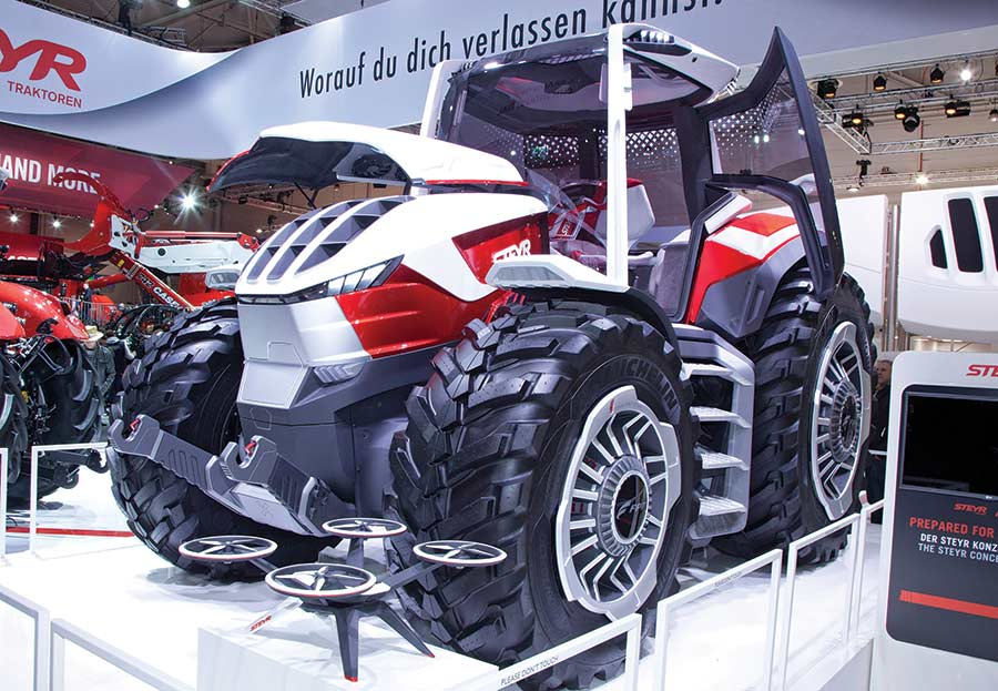 Steyr concept tractor