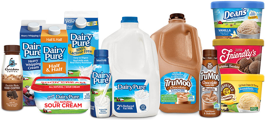 Dean Foods dairy products