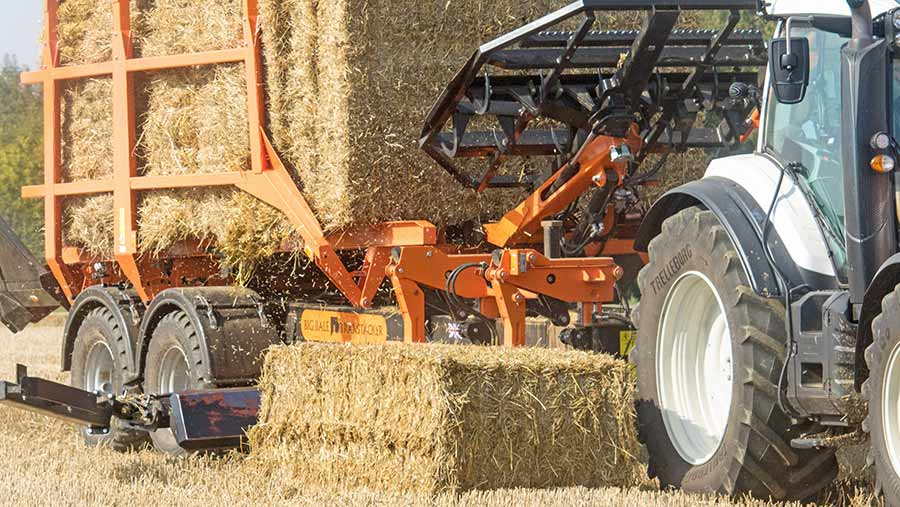 Big Bale Transtacker