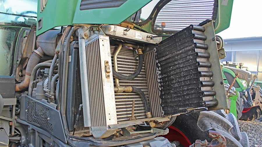 Fendt 700-series engine