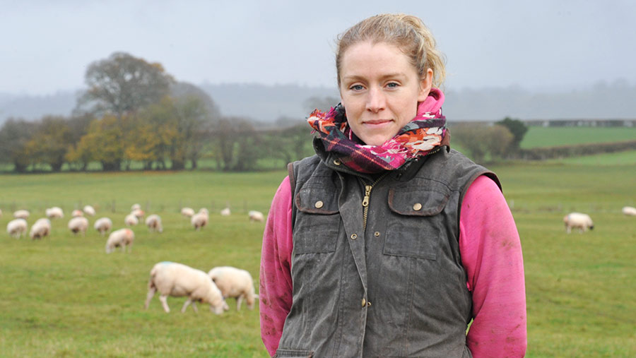 Farmer Nicola Drew