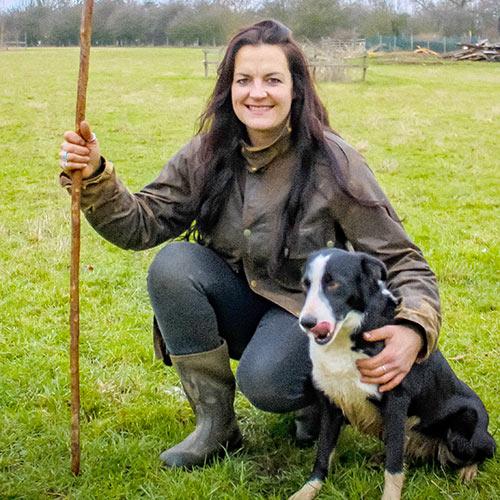 Wild Wool Shepherdess Elizabeth Kneafsey