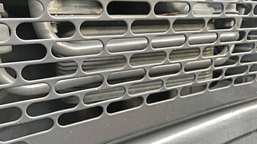 Fendt 700-series oil cooler