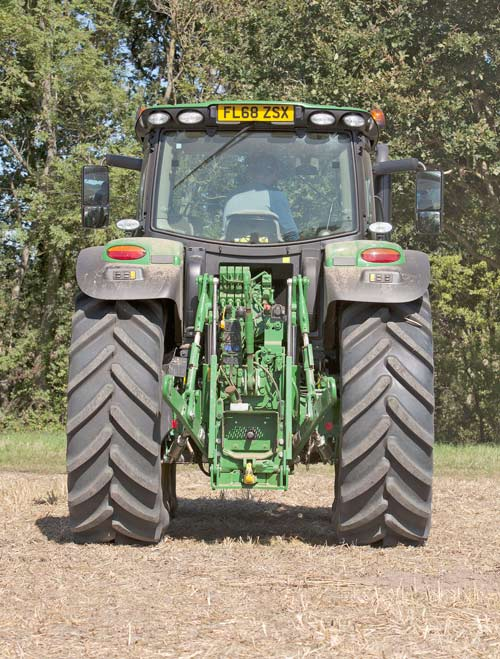 John Deere 6175R from the back