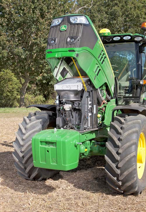 John Deere 6175R engine