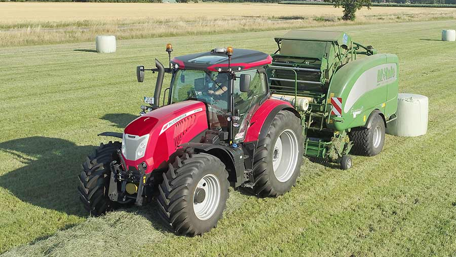 New McCormick X7.624 VT-Drive heads a fresh line-up of CVT tractors with 230/240hp from its chassis-mounted 6.7-litre engine