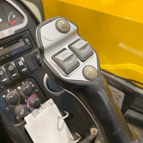 Rubber seals around switches