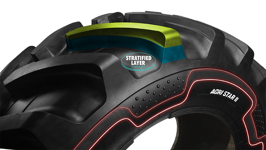 Alliance Agri Star II tractor tyre