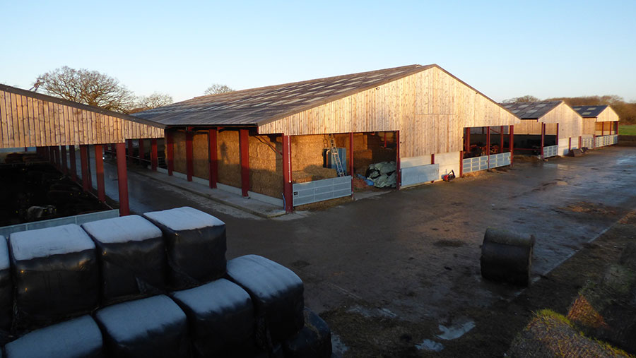 Farm shed complex