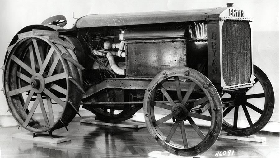 Bryan steam tractor