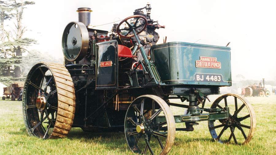 Suffolk Punch steam tractor