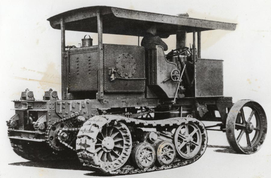 Sentinal tracked steam tractor