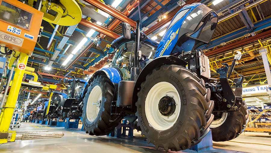 Basildon is the only large-scale tractor factory left in the UK