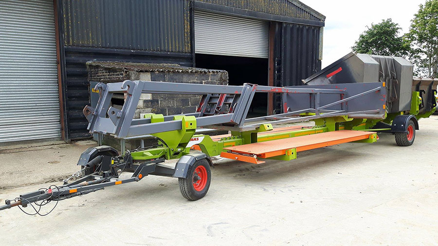 Hywel Phillips harvest trailer